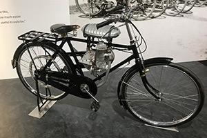 補助エンジン付き自転車(通称:バタバタ)